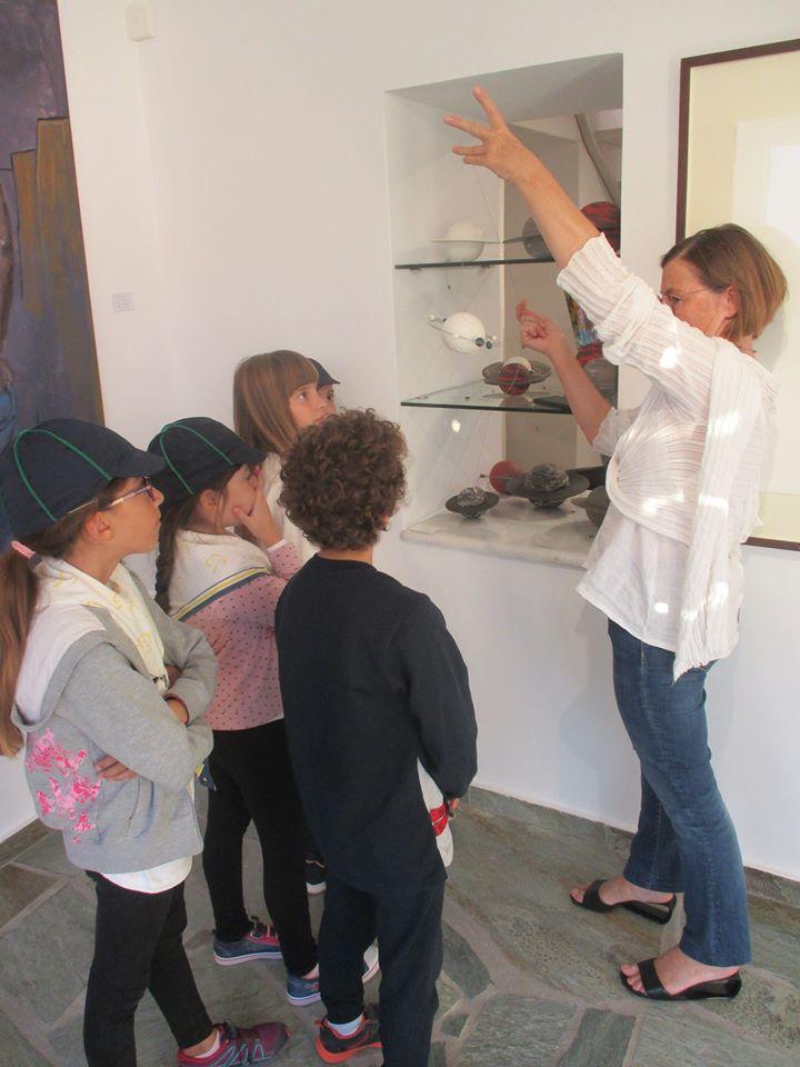 ΣΕΟ - Επίσκεψη Δelta art gallery